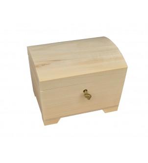 Szkatułka drewniana średnia...