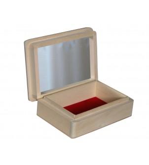 Pudełko szkatułka z lustrem...