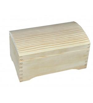 Szkatułka drewniana z...