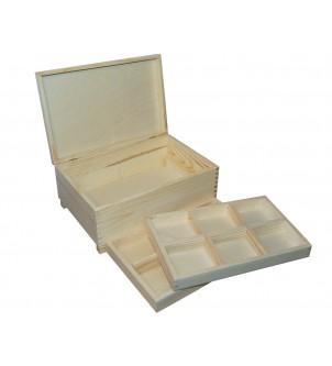 Pudełko z dwoma wkładkami...