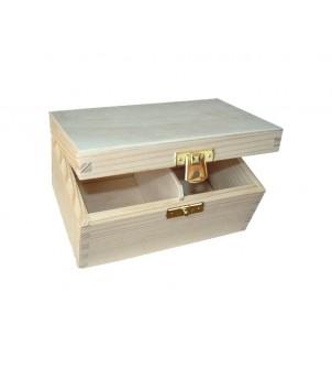Pudełko z drewna na herbatę H2