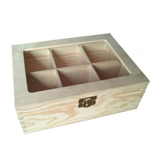 Pudełko na herbatę H6PL z...