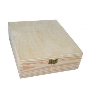 Pudełko drewniane...
