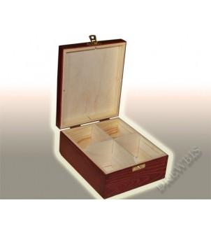 Pudełko na herbatę H4m, mahoń