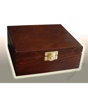 Pudełko na herbatę H4b, brąz