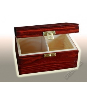 Pudełko na herbatę H2m, mahoń