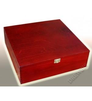 Pudełko duże P34m, mahoń