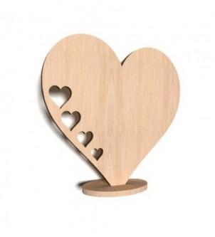 Serce stojące WSS3S z sercami