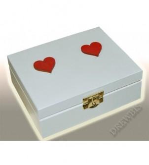 Pudełko z dwoma komorami i...