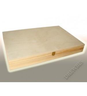 Pudełko drewniane z...