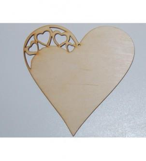 Wycinanka serce 4 serca...