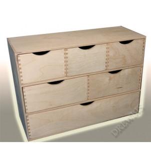 Organizer - komoda OR3x123