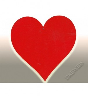 Serce WSE150c czerwone 150 mm