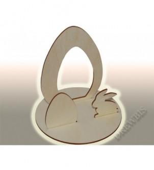 Wycinanka 3D Wielkanoc...