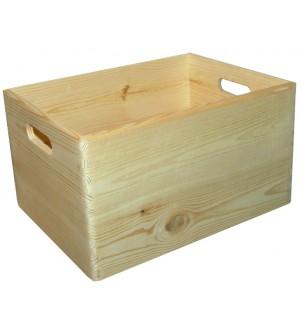 Skrzynka z drewna duża...