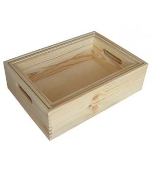 Skrzynki drewniane z...