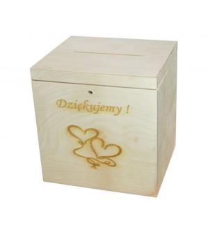 Pudełko na karty ślubne...