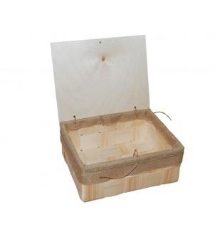 Pudełko z łuby prostokątne...
