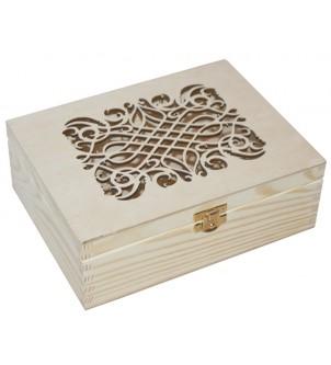 Pudełko z ażurowym wiekiem...