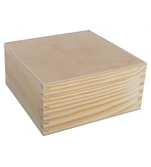 Pudełko drewniane P16...