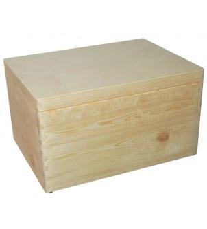 Pudełko z drewna na zabawki...